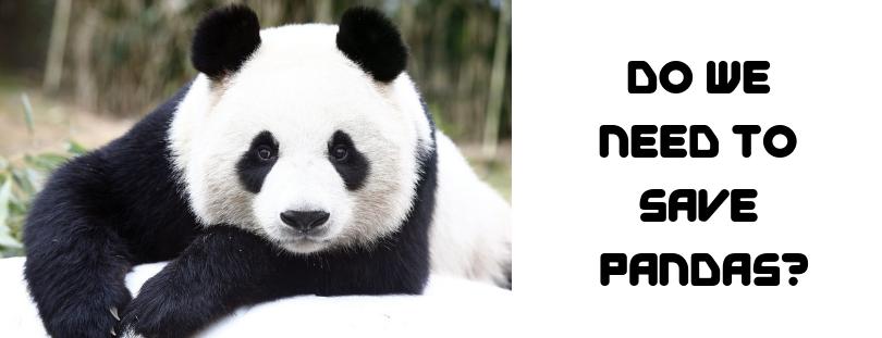 Do We Need to Save Pandas_